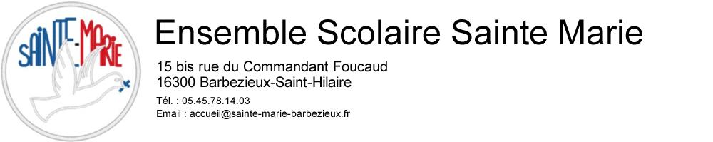 Ensemble Scolaire Sainte Marie Barbezieux